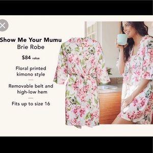 3/$30🌻Show Me Your Mumu Brie Robe